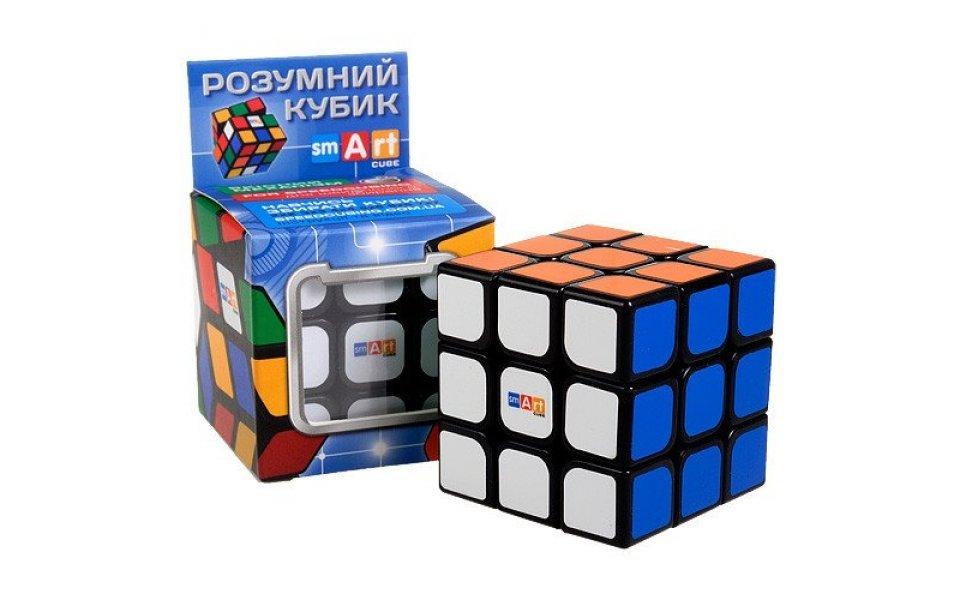 Кубик рубика Smart Cube Черный Флюо 3х3х3 (SC321)