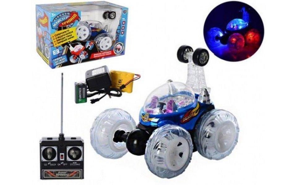 Акробатическая машина перевертыш Limo Toy синий (9293blue)