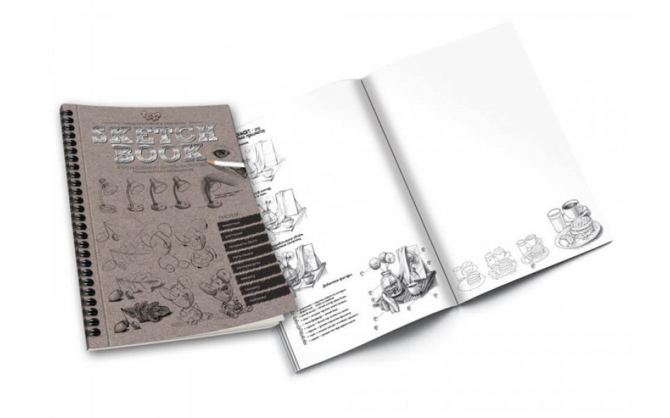 Комплект креативного творчества Danko Toys SKETCH BOOK (рос) (6632DT)